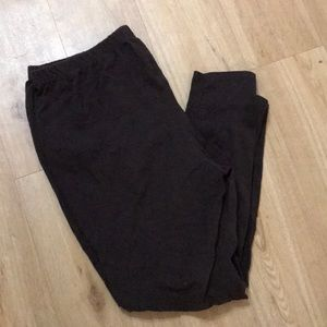 Just My Size brown leggings size 2X.